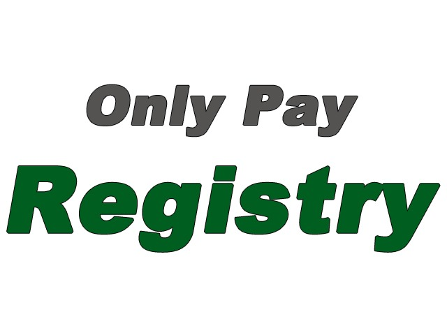 Pay Only Registry